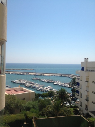 View from our balcony in Estepona