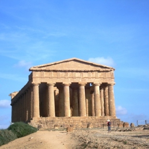 Agrigento-Valley of the Temples ((Valle dei Templi)--Temple of Concord