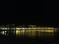 La Concha beach at night