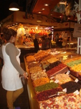 Boqueria Market Sweet Shop