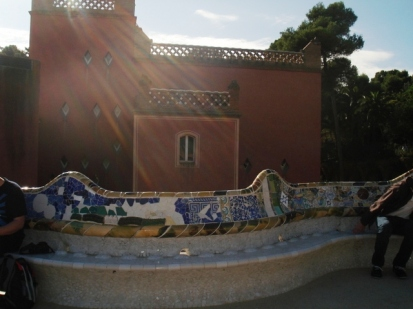 Guell Park benches