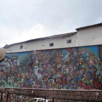 Mural-Avenida del Sol Cusco