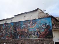 On Avenida del Sol- Mural