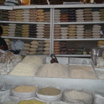 San Pedro Market- Flours and Grains