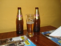 When in Cusco, drink Cusqueno beer