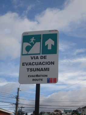 Tsunami evacuation instructions a little unnerving