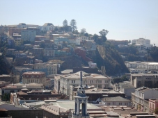 View of Valpo from Cerro Concepcio