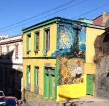 mural-homage to Van Gogh
