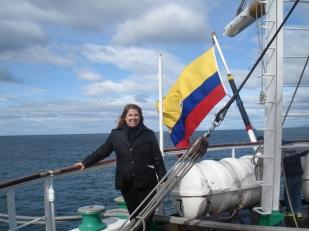 Colombian vessel